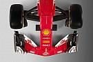 Formula 1 Ferrari SF70H vs SF16-H: confrontate la vista frontale e dall'alto