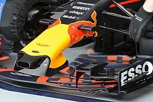 Red Bull: il buco alimenta la presa dell'S-duct e quelle dell'elettronica