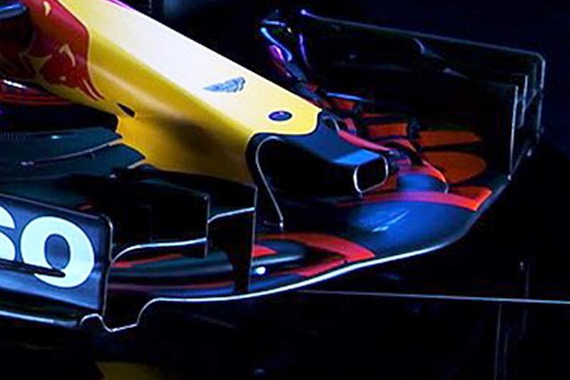 Análisis técnico: el curioso agujero en el morro del Red Bull