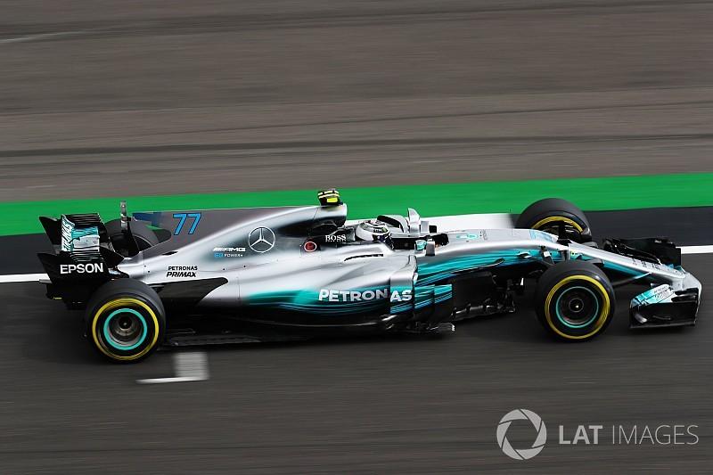 GP Inggris: Bottas kuasai latihan pertama, Vettel debut Shield