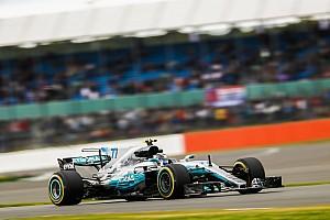 Formel 1 Trainingsbericht Formel 1 2017 in Silverstone: Bottas am Freitag knapp vor Hamilton