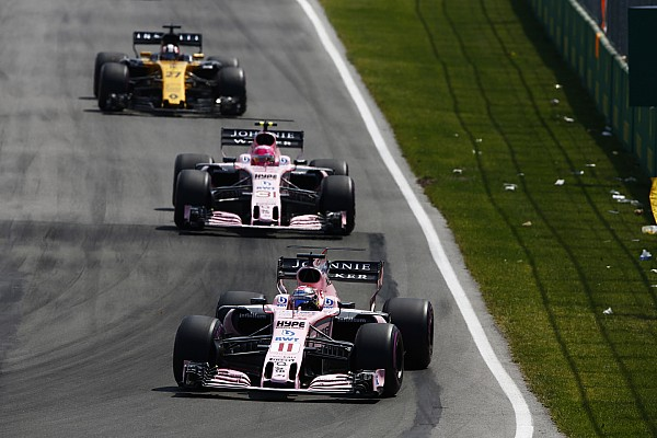 F1 【F1】執拗に順位を死守したペレスに怒りのオコン「フェアじゃない」