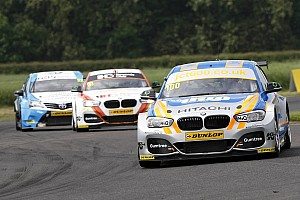 BTCC Race report Croft BTCC: Collard wins after Subaru pair collide