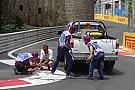 La clasificación de GP2 suspendida