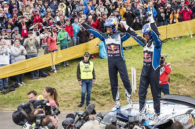 WRC Jerman: Ogier kunci kemenangan, Sordo amankan posisi kedua