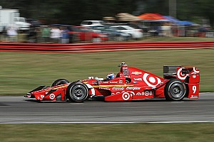 IndyCar Practice report Dixon tops first practice at Watkins Glen, Daly crashes