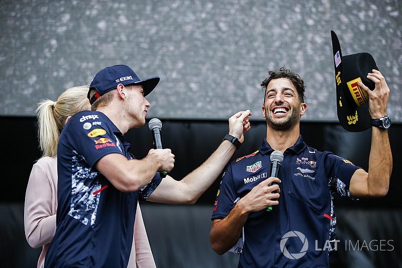 Horner: Ricciardo ve Verstappen griddeki en iyi ikili
