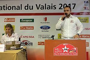 Rally Svizzera Conferenza stampa Tutto pronto per la 58esima edizione del Rallye du Valais!