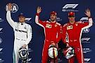 Starting grid GP Tiongkok 2018