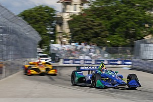 """IndyCar Breaking news Rossi admits Detroit error but """"conceding a win isn't going to happen"""""""
