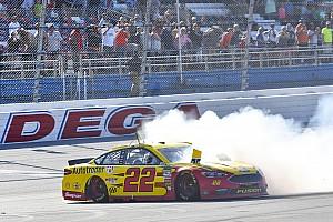 NASCAR Cup Rennbericht Talladega: Joey Logano entgeht