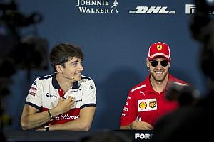 Vettel, 2019'da Leclerc'le yakın bir mücadele bekliyor