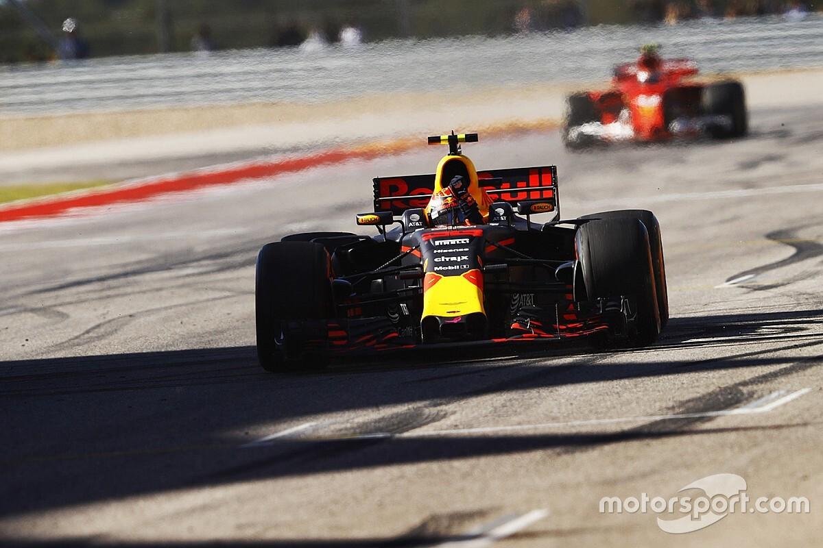 La F1 instala nuevos bordillos en Austin para que no se repita la maniobra de Verstappen