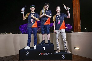 Brendon Leigh devient le premier Champion F1 eSports!