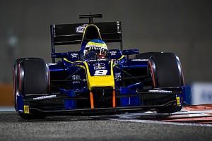FIA F2 Gara Rowland maestro di strategia trionfa nella Feature Race di Abu Dhabi