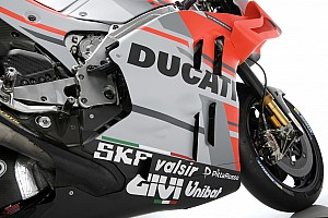 MotoGP Conferenza stampa Anteprima Ducati: c'è il grigio nella livrea perché si aspetta lo sponsor IQOS?