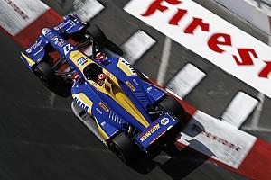 IndyCar Practice report Long Beach IndyCar: Rossi edges Penskes, King shunts in FP3
