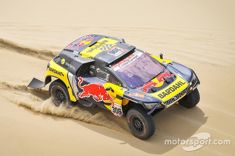 dakar 2019 stage 2 loeb beats roma by 8s. Black Bedroom Furniture Sets. Home Design Ideas