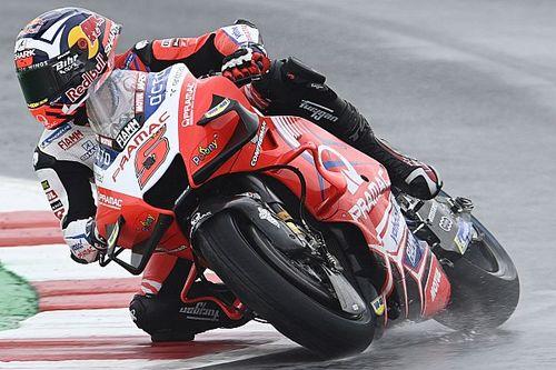 MotoGP Misano FT2: Ducati-Trio im Nassen vorn - Quartararo nur 18.