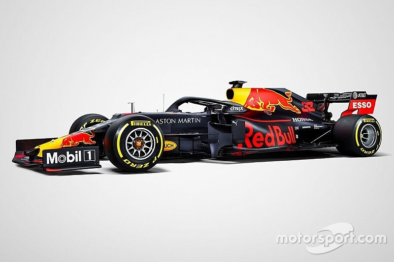 Red Bull's 2019 F1 livery revealed