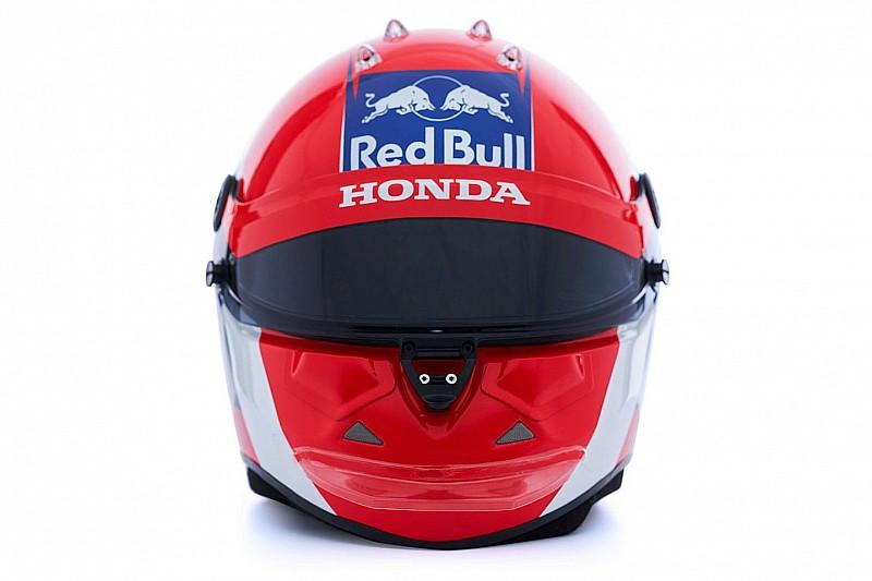GALERÍA: Los cascos de Kvyat y Albon que utilizarán en Toro Rosso