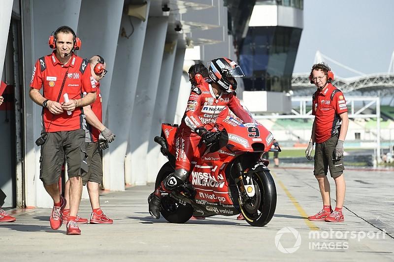 [MotoGP] 杜卡迪:车手和谐共处能让车队少损失一点积分