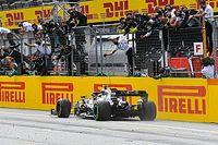 F1シュタイアーマルクGP決勝|ハミルトン、横綱相撲で今季初優勝。フェルスタッペン3位、メルセデスにワンツー許す