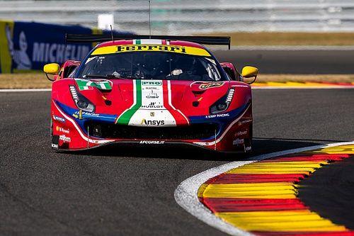 Serra replaces Rigon on Ferrari GTE Pro WEC roster