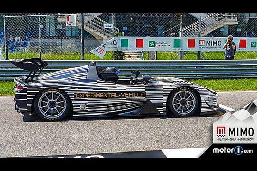 Sorpresa Dallara, la Stradale EXP gira in pista durante il MIMO