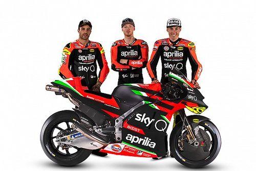 Aprilia reveals 2020 MotoGP livery