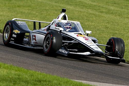 Newgarden leads three former winners in Indy 500 test