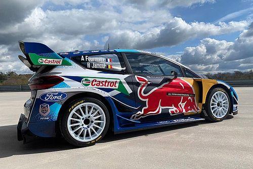 Ford Fiesta WRC w barwach Red Bulla