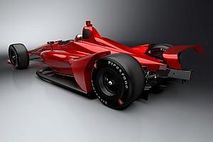 IndyCar lanza más imágenes de su coche de 2018