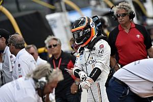 Formule 1 Actualités Alonso avec son casque de l'Indy 500 à Austin