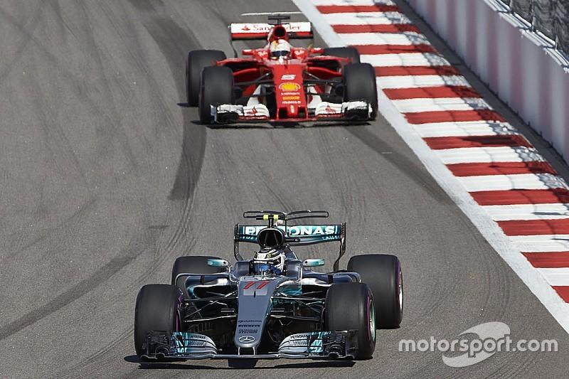 Bottas a dû gérer des pneus sévèrement endommagés en fin de GP