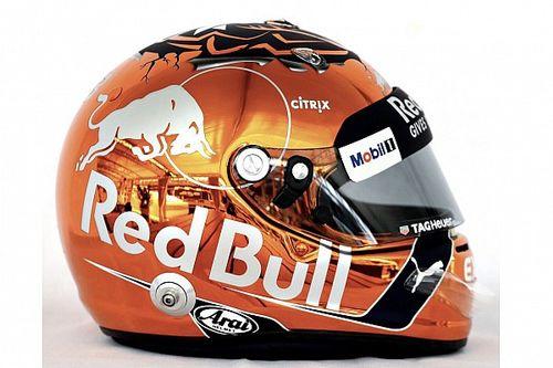 Fotogallery: il nuovo casco di Verstappen per il GP del Belgio