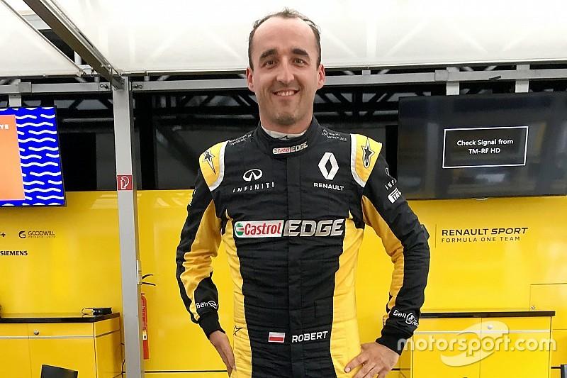 Kubica a passé avec succès le test d'extraction