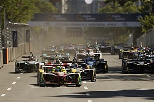 フォーミュラE レースレポート 【FE】モントリオール・レース1決勝:形勢逆転! ディ・グラッシがポール・トゥ・ウィン