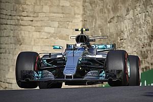 Formel 1 Trainingsbericht Formel 1 2017 in Baku: Mercedes vor Ferrari im 3. Training