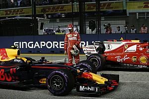 Формула 1 Результаты Гран При Сингапура: предварительная стартовая решетка