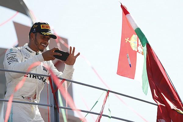 """F1 汉密尔顿:""""我很高兴做坏人"""""""