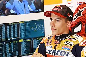 MotoGP Crónica de test Márquez quedó adelante en un warm up marcado por la lluvia y las caídas