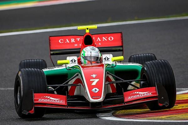 Alfonso Celis gana la primera carrera de la F3.5 en Spa
