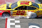 Logano's Cup win at Richmond declared an
