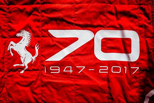 General Спеціальна можливість Motorsport Report: Ferrari святкує 70-річний ювілей