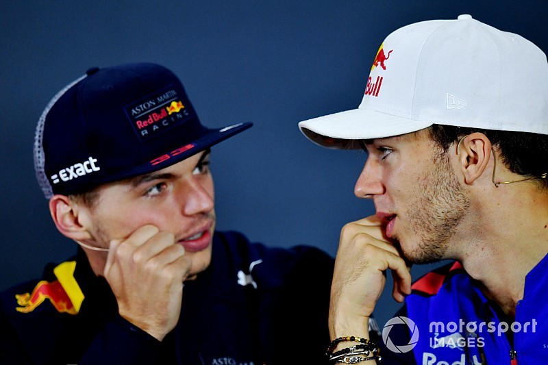 Gasly says Verstappen the