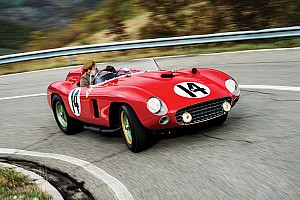 Ex-Fangio Ferrari 290 MM fetches $22 million at auction