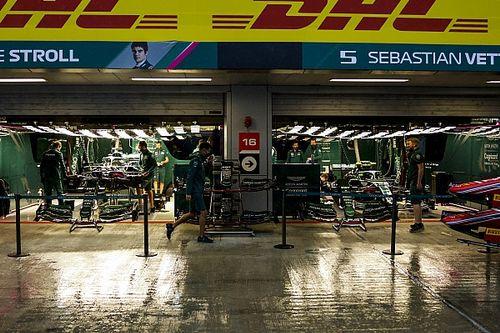 F1ロシアGPの土曜日は大雨! フリー走行3回目は中止に。予選はできるのか?