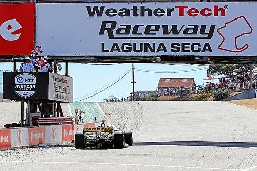 Herta gana en Laguna Seca seguido de Palou y O'Ward es 5°
