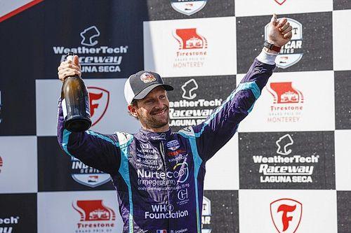 """Grosjean brilla a Laguna Seca: """"Mi sono sentito come Zanardi"""""""